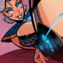 Camille - League of Legends - What's the Phrase - Cartoon PinUp Commission