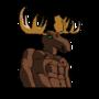 Hunky Moose Man