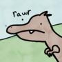 A dopey Dino