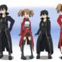 Kirito and Silica Age Swap