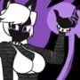 Dark Catgirl GF