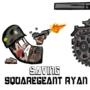 Saving Squaregeant Ryan