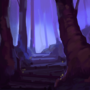 Misty Forest - speedpaint