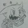 Buck the Gamestop Bunny sketches