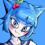[COMMISSION] mistletoe girl