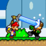 Mario's FLUDD Pack mishap
