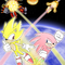 super sonic and hyper knuckles