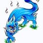 Blue Demon Dog by Kairisk