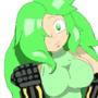 Manzanilla Show us her Super Arms