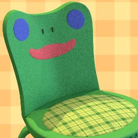 Froggy Chair Animal Crossing By Raptorbricks On Newgrounds