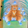 Tiny Ninetailed Fox