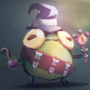 Magic frog concept