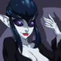 Onyx in Elvira Cosplay