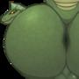 Lohik's Fat Lizard Ass with BALLS