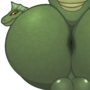 Lohik's Fat Lizard Ass with BIG BALLS