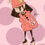 Harajuku Girl Pinup 1