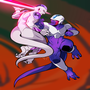 Freeza and Cooler Fight