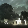 Golem vs Mech by keepwalking