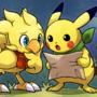 Chocobo & Pikachu