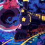 Cosmic train, Pixel day 2020