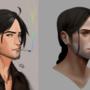 Eden Portrait Practice