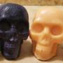 Wax skulls.