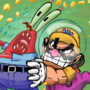 Wario and Krabs
