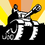 Tank pixel logo