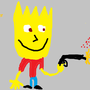 Bart Simpson by leviwellsy