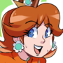 Peach Daisy Rimjob Commission