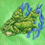 COVID-19 Pre Cog: Green Glowing Goblin