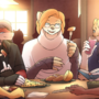 Family Dinner (Commission)