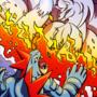Feraligator VS Shiny Ninetales (Commission)