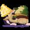 Frog on a Vespa