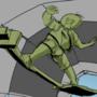 skating on the frikkadel thrower GIF
