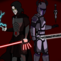 so a Sith and a Mandalorian walk into a bar
