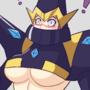 Trident Woman underboob