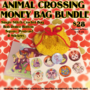 Animal Crossing Money Bag Bundle 4 Sale