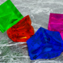 Colorful Jell-O Cubes (^‿^)