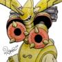 Rapidmon (Golden Armor Digi-Egg)