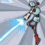 MagixBot Blastin' Away by MagicalJamie