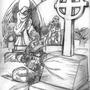 Graveyard Defense! by Ritari