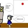 My Horrible Robot comic by Kittensinafryingpan