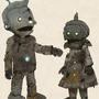 gretel and hansel Robots