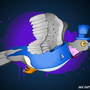 High Society Pigeon by Roboface3001