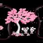 Cherry Blossom Bunny Love