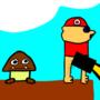 Mario Pisses Epic Style