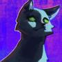 cat standin