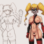 Harley Quinn Slutty design
