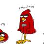 modern angry birds